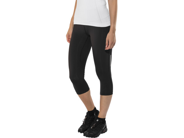 Salomon Agile Mid-Rise Tights Women, black